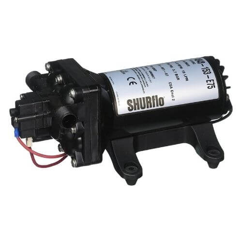 Review of Shurflo 4048153E75 Electric Water Pump
