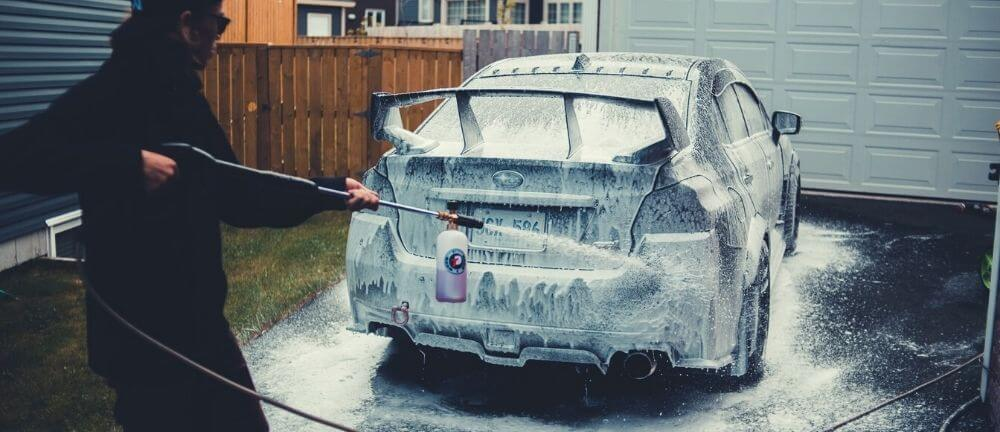 Best foam cannons for car wash