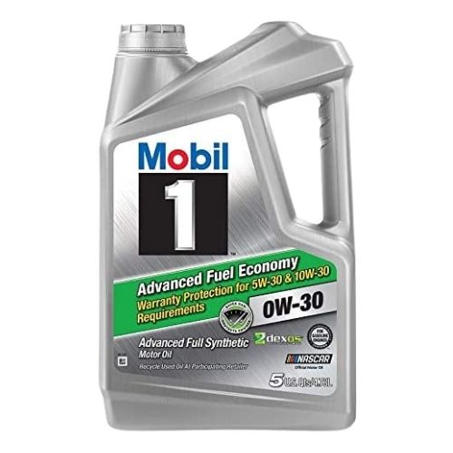 Mobil 1 Advanced Fuel Economy Full Synthetic Motor Oil 0W-30