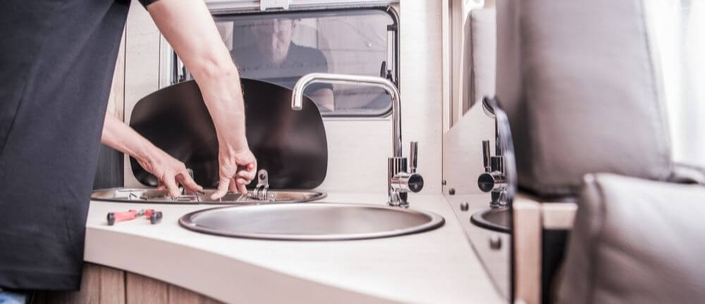guide water in RV
